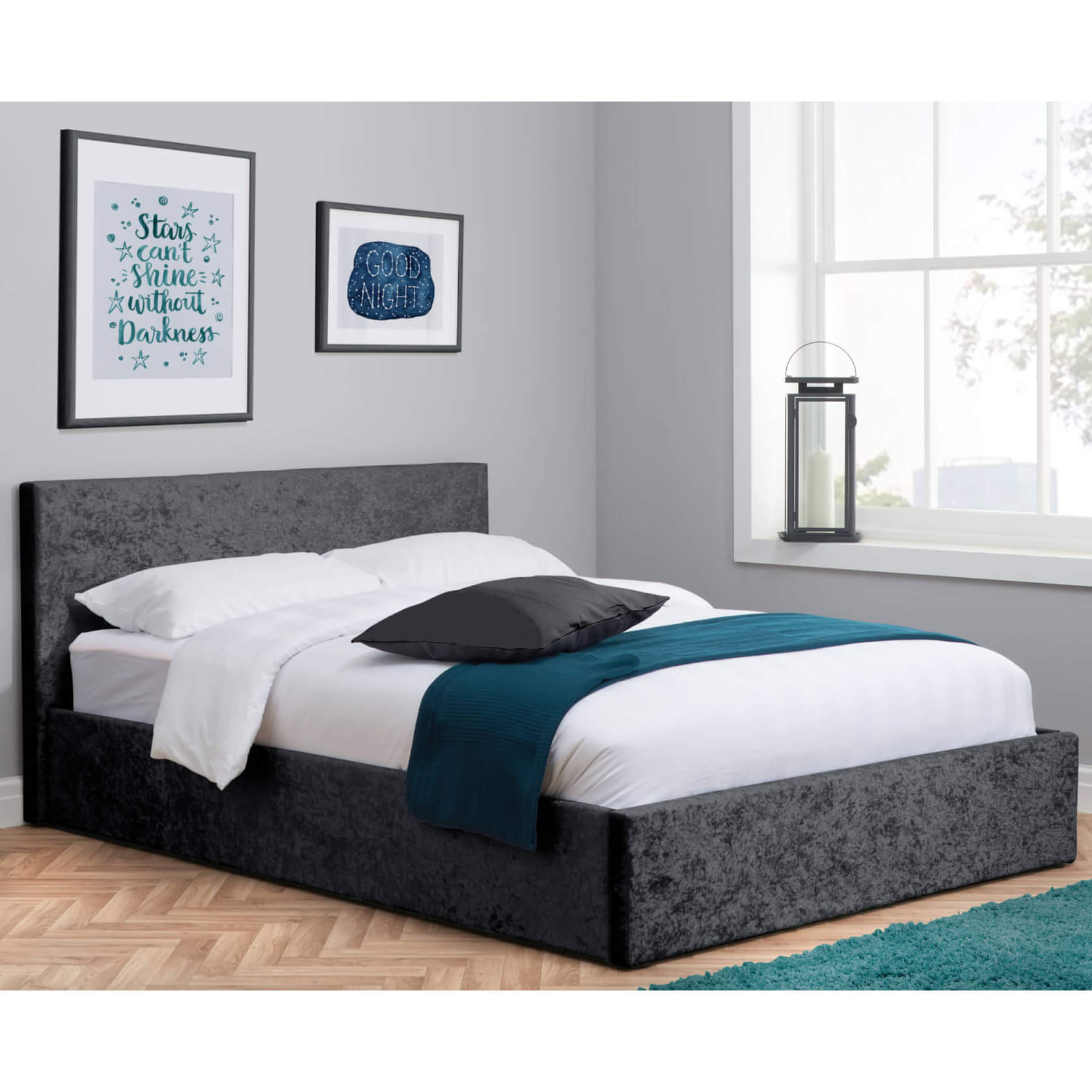 Abbey Ottoman Bed Frame Bedknobs