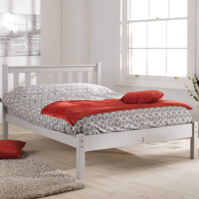Caesar Wooden Bed Frame Bedknobs